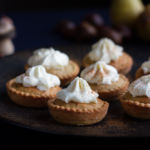 Spicy Chestnut and Pear mini Pies (or Tartelettes)